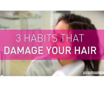 3 Habits That Damage Your Hair featured image