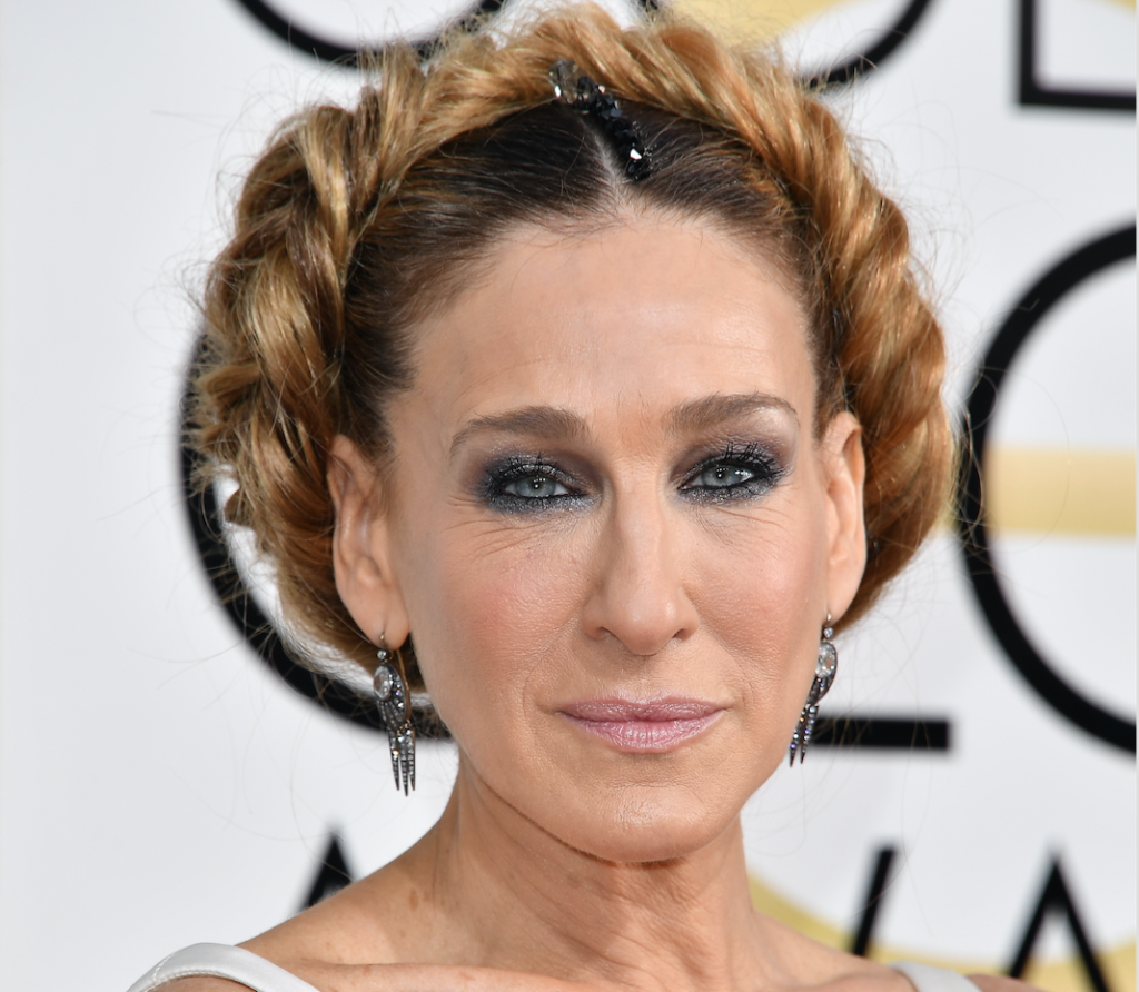 Sarah Jessica Parker's Golden Globes Fake Fishtail Post Is So Honest featured image
