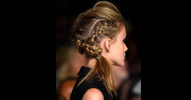 Fall Hair How-to: Braided Pompadour featured image