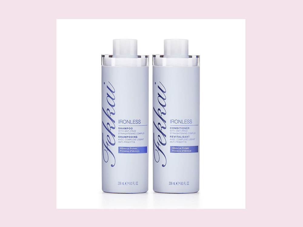 This New Shampoo and Conditioner Duo Gives You Pin-Straight Hair Without a Flat Iron featured image