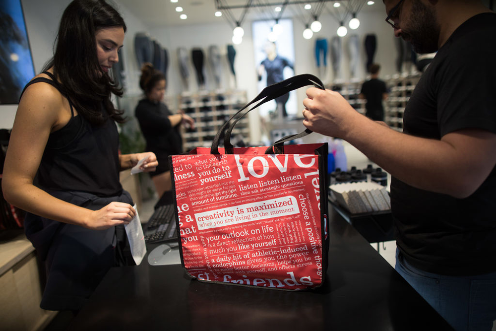 We Bet You Didn't Notice This Dangerous Skin Care Advice on Your Lululemon Shopping Bag featured image