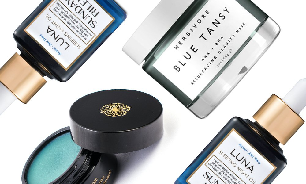 The Cool Reason Some of the Best Skin Care Products Are Blue featured image