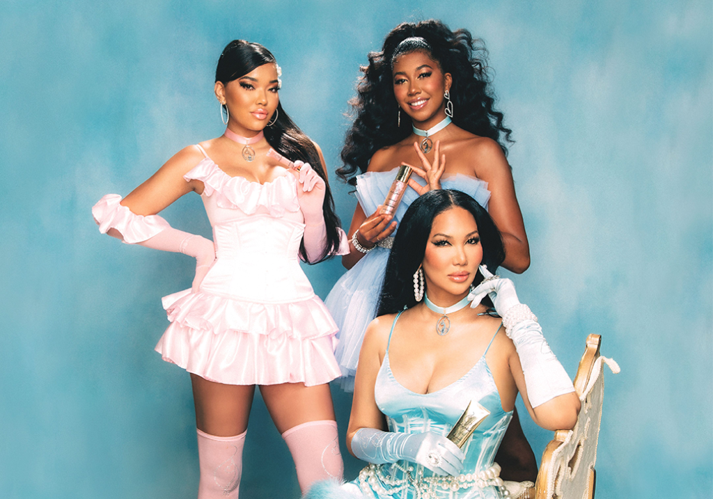 Kimora Lee Simmons Launches New Beauty Brand With Her Daughters featured image