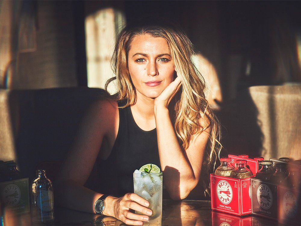 Blake Lively Just Launched a Line of Lower-Calorie Clean Mixers featured image
